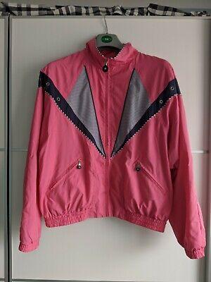 Jamie Sadock Pink Vintage Bomber Sailer Jacket Medium