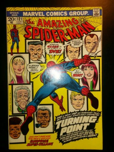 Amazing Spider-Man 121 VF Beautiful Copy Death Of Gwen Stacy 8.0 - $1.17