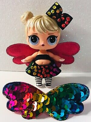 3 PC Custom LOL Surprise Accessories Bow Butterfly Angel Fairy Wing Clothes Lot ](Fairy Custome)