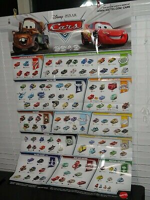 DISNEY PIXAR CARS 2013 COMPLETE SET + 9 BONUS EXCLUSIVES 125 TOTAL DIECAST!!!