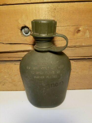 Military Canteen Water Green Plastic 1993 - Swanky Barn