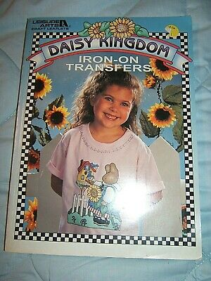 1995 Daisy Kingdom Iron On Transfers BOOK  QUILTING APPLIQUE PATTERNS 170pp Quilting Iron On Transfers