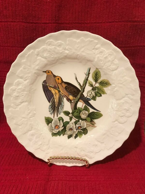 Alfred Meakin Birds of America / Audubon CAROLINA TURTLE DOVE Plate #17