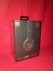 BRAND NEW SEALED Beats Solo3 Wireless BLACK/RED
