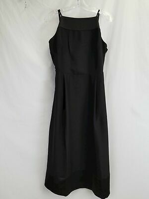 Banana Republic Women's Black A-Line Dress Sz 8 NWT