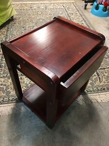Wooden Draw Table or stool Walcha Walcha Area Preview