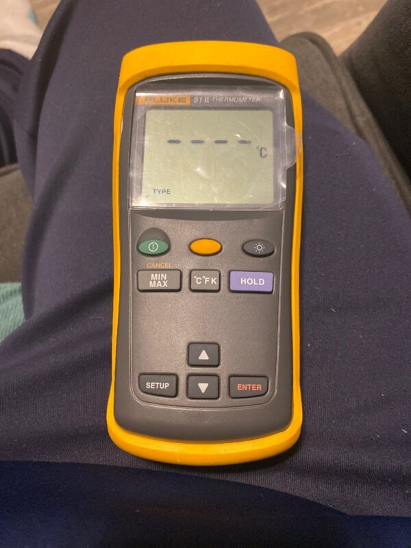 Fluke 51 II Thermocouple Digital Thermometer