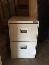 White filing cabinet The Hill Newcastle Area Preview