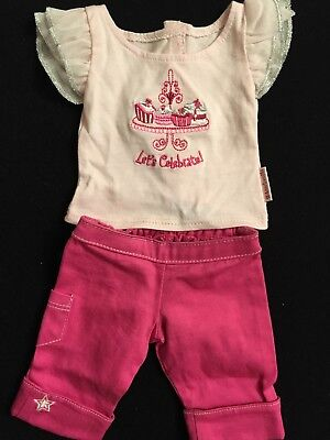 """American Girl Doll """"Let's Celebrate"""" 2-Piece Fashion Show Clothing Lot Outfit"""