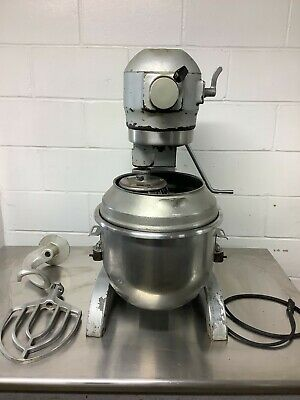Hobart A-200 Mixer 20qt With Paddle Hookwhiskbowl Extension 115v 1ph Tested