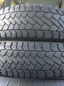 2-185/60R15 Snowtrakker winter tires