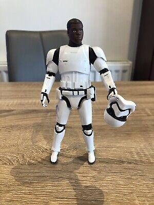 """Disney Star Wars Elite Finn Stormtrooper Die Cast 6"""" Figure"""