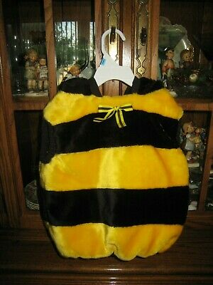 BUMBLE BEE TODDLER HALLOWEEN COSTUME SIZE 24 MONTHS - PLUSH FABRIC - ADORABLE](Toddler Halloween Costumes Bumble Bee)