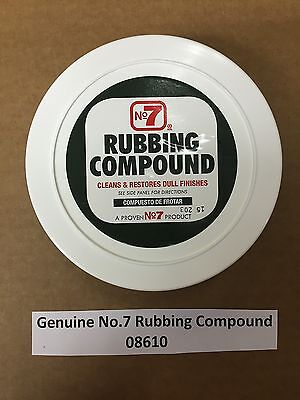 Heavy Duty Rubbing Compound - Genuine No.7 Automotive Heavy Duty Rubbing Compound 08610 FREE SHIP Made in USA
