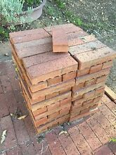 Red narrow paver bricks Mahogany Creek Mundaring Area Preview