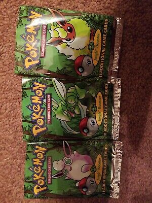 EMPTY 1ST EDITION JUNGLE BOOSTER PACK ART