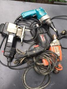 Used Power Tools Makita Craftsman Skilshop Drill