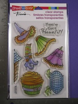 STAMPENDOUS CLEAR RUBBER STAMPS -