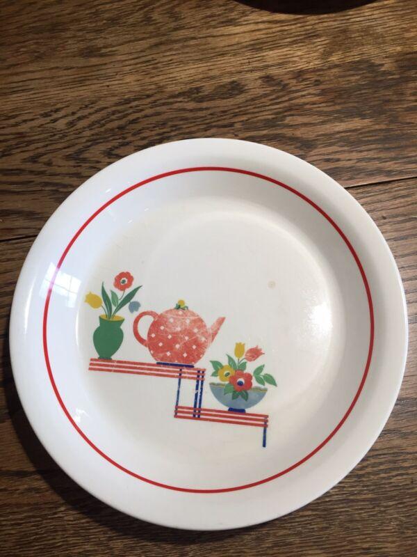 "Hostess Ware Pottery Guild Pie Dish 9 1/2"""