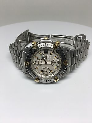 TAG Heuer Super 2000  Automatic Chronograph Movement Men's Watch Box & Papers