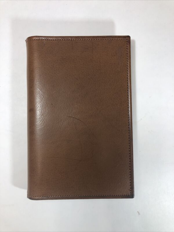 Coach authentic Tan Pocket Diary (Address Book)