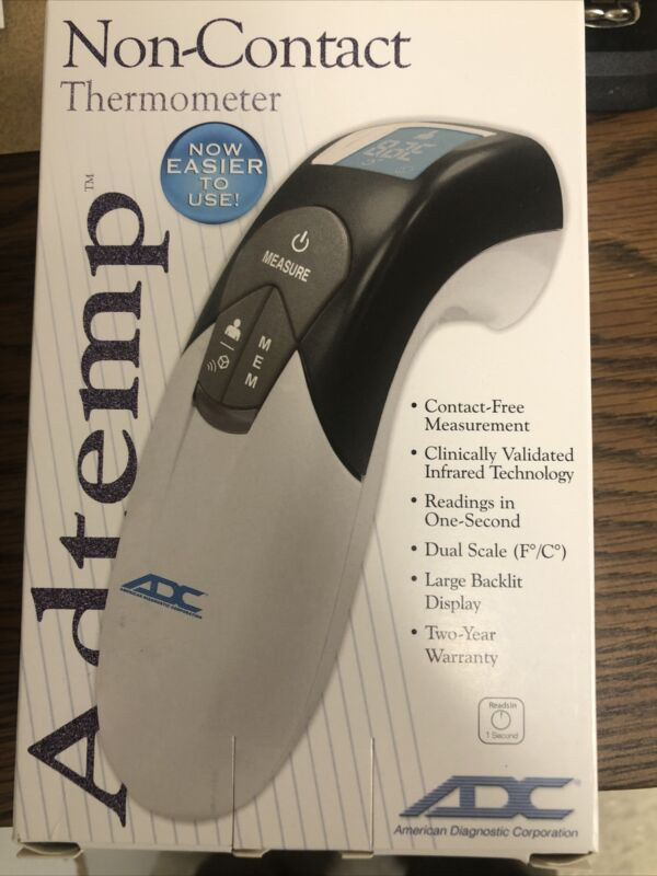 ADC Adtemp 429 Non Contact Infrared Thermometer Doctors And Pharmacy Recommended