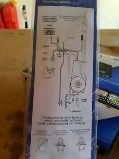 kenwood stereo power amplifier kac-923 2x220w car amp | audio, gps on  power amp kac wiring diagram