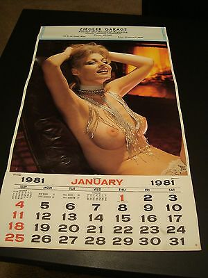 Vintage 1981 Advertising Calendar - Ziegler Garage