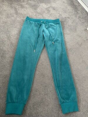 juicy couture tracksuit bottoms teal Size Small