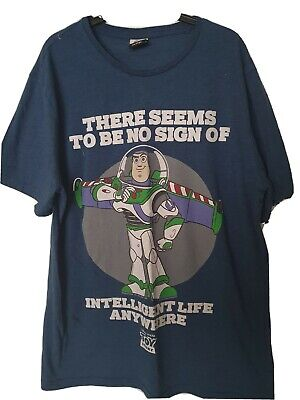 Mens Disney TOY STORY T-shirt size Medium (Asda George)