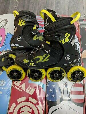 K2 Vo2 S 100 Pro Skates Rollerblades size 10