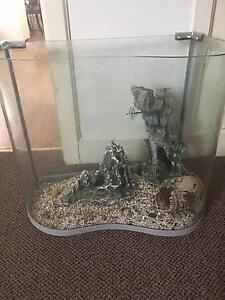Fish Tank and Cupboard - Assorted chemicals included Adamstown Newcastle Area Preview