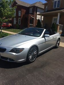BMW 645ci convertible mint condition