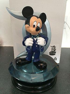 Disneyland 60th Anniversary Mickey Mouse D Icon Medium Big Fig Figure Statue
