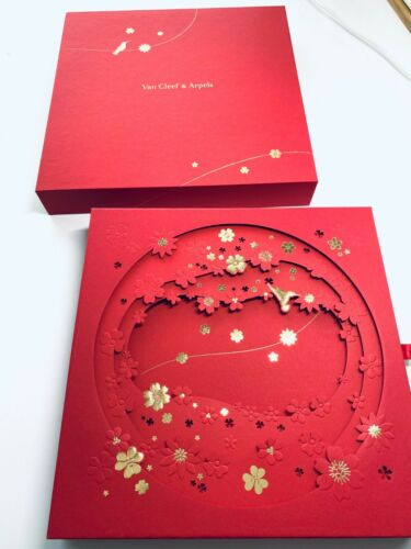 SPECIAL EDITION NEW Van Cleef & Arpels 2021 Lucky Red Envelopes Lunar New Year