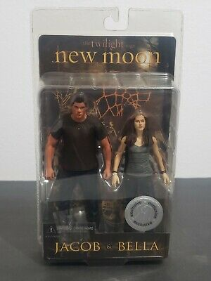 The Twilight Saga New Moon Bella & Jacob Action Figures New Sealed 2009