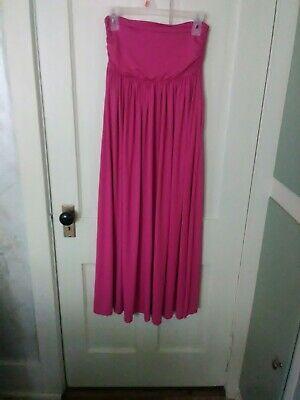 Womens Maxi Skirt/Tub Dress Raspberry by Meaveur M