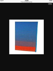 IKEA beautiful blue & orange rug 200X 300cm
