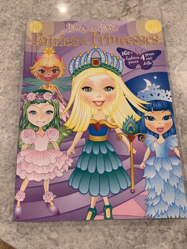 Dress Up Dolls Paper Dolls Book Fairies & Princesses
