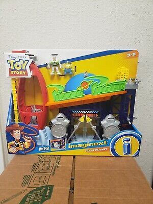 New in Box Imaginext Toy Story 4 Pizza Planet playset Figures unopened complete