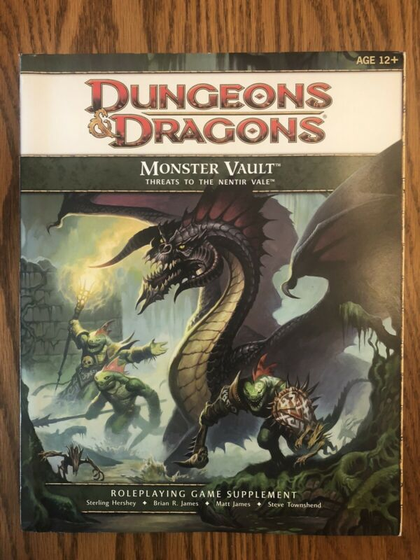 MONSTER VAULT THREATS TO THE NENTIR VALE Sealed Contents 2011 D&D 4E