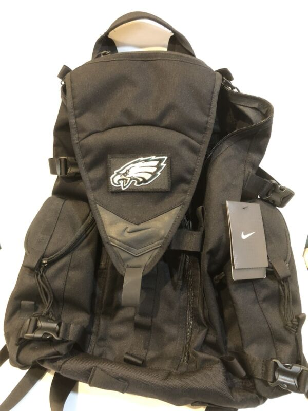 NIKE SFS RESPONDER TACTICAL MILITARY PHILADELPHIA EAGLES BACKPACK Black Volt NEW