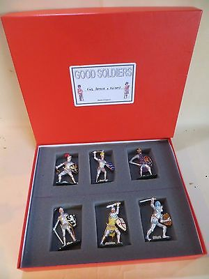 'GOOD SOLDIERS' 'KING ARTHUR & KNIGHTS' METAL FIGURES BOXED SET. MIB. 1:32.
