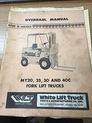 White Lift Truck - Overhaul Manual - My20 My25 My30