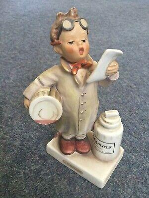 Vintage Goebel Hummell little Pharmacist 322 Dated 1955