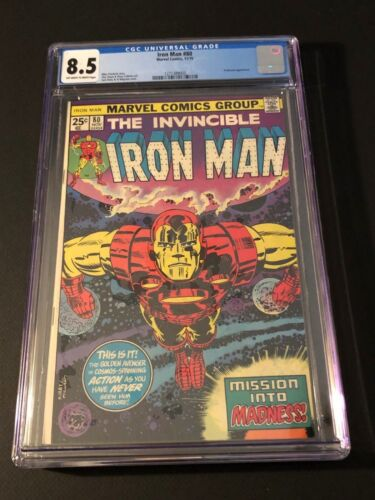 Iron Man #80 CGC 8.5 (Nov 1975, Marvel)
