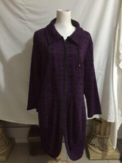 TS (Taking Shape) Purple & Black Jacket Size Medium 16+