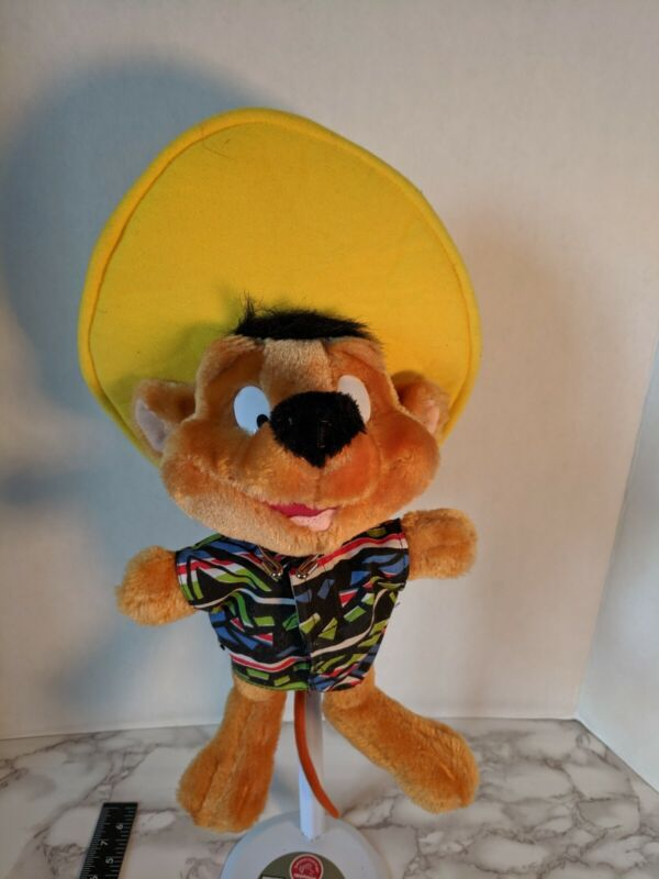 VTG 1990s Looney Tunes Speedy Gonzales Gonzalez Stuffed Animal Plush Doll