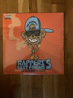 The Alchemist - Rapper's Best Friend Part 5 LE #/200 Clear Vinyl RARE *SOLD