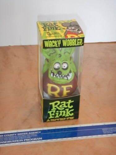 2005 FUNKO RAT FINK WACKY WOBBLER, BOBBLE HEAD, NEW OLD STOCK